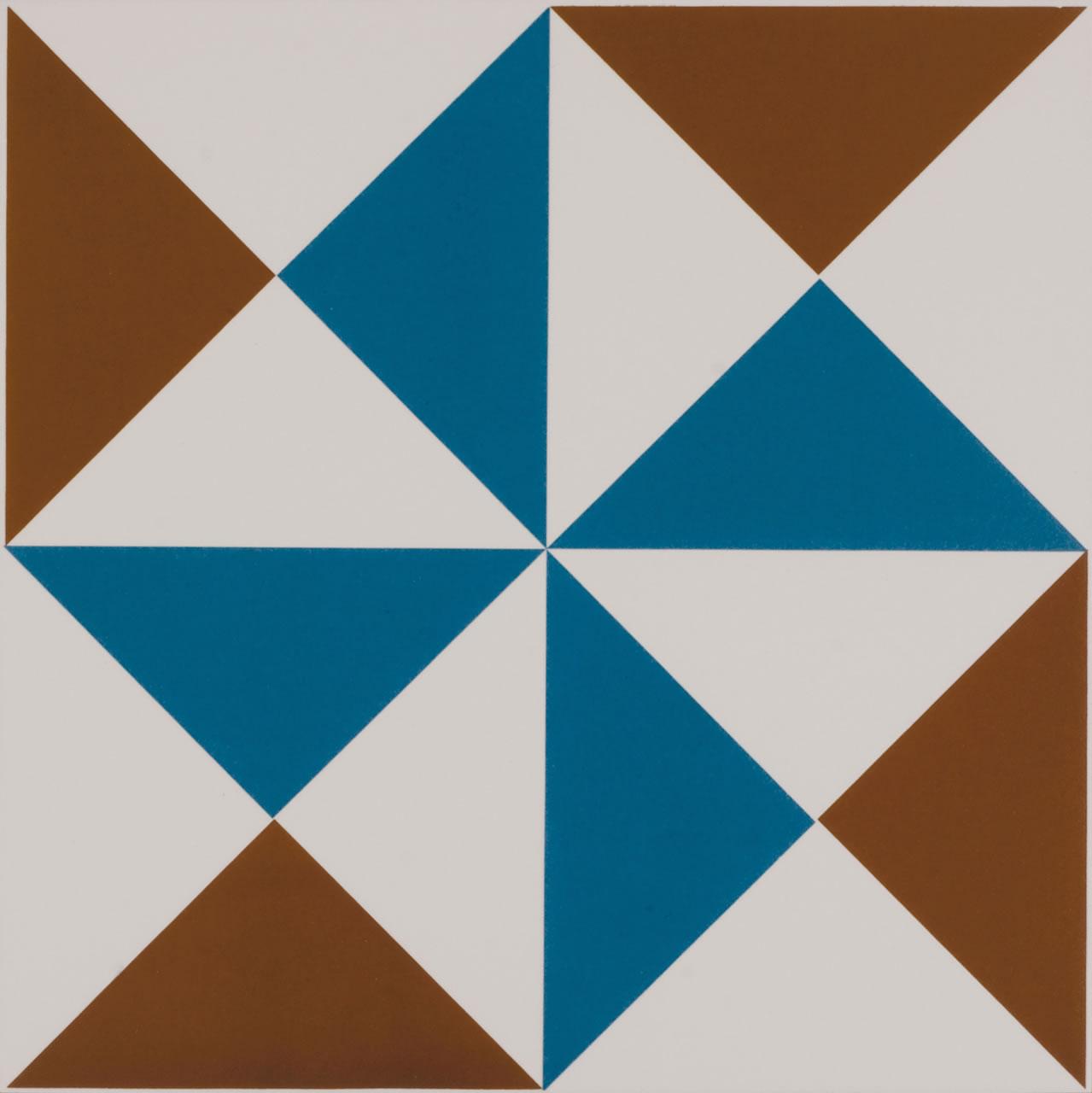 Patchwork Geometrico Ac 19x19cm Eliane Revestimentos